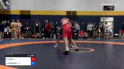 86 kg Round Of 32 - Gabe Dean, Titan Mercury Wrestling Club (TMWC) vs Jake Hendricks, Pennsylvania RTC