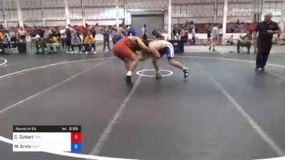 86 kg Prelims - Cordel Duhart, Tiger Style Wrestling Club vs Micah Ervin, Kentucky