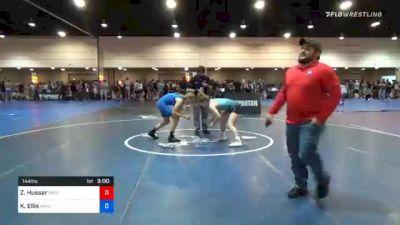 144 lbs Prelims - Zoe Hussar, Ohio vs Kamryn Ellis, Savannah Wrestling Center