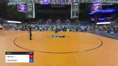 100 lbs Consi Of 4 - Ian Werner, Alaska vs Vincent Biondoletti, Florida