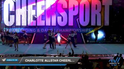 Charlotte Allstar Cheerleading - Ultra Violet [2020 International Junior 2 Division B Day 2] 2020 CHEERSPORT National Cheerleading Championship