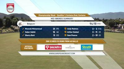 Replay: Championship Week - 1st R2 vs 2nd R2 - 2021 England XI vs Belgium | Oct 8 @ 11 AM