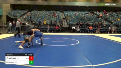 174 lbs Round Of 16 - Travis Wittlake, Unattached vs Cole Moody, Unattached