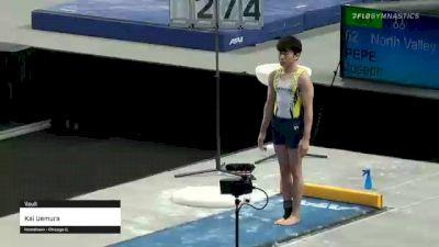 Kai Uemura - Vault - 2021 US Championships