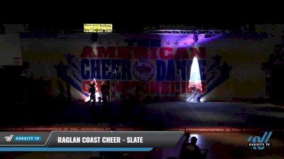 Raglan Coast Cheer - Slate [2021 L5 Junior - Small 2] 2021 The American Celebration DI & DII