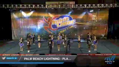 Palm Beach Lightning - PLATINUM [2021 L6 International Global Coed Day 1] 2021 South Florida DI & DII Nationals