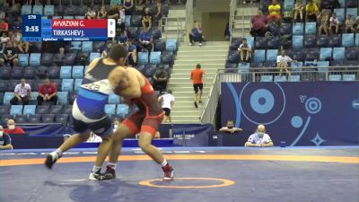 92 kg 1/8 Final - Gor Ayvazyan, Georgia vs Javlon Tirkashev, Uzbekistan
