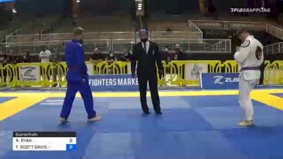 ALEK RYAN vs TRAVIS SCOTT DAVIS 2020 World Master IBJJF Jiu-Jitsu Championship