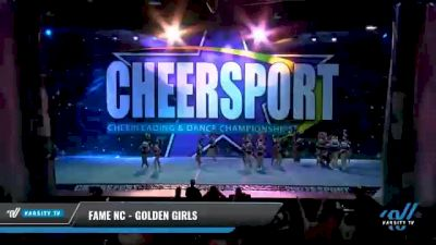 FAME NC - Golden Girls [2021 L2 Youth - Medium Day 1] 2021 CHEERSPORT National Cheerleading Championship
