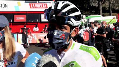 Egan Bernal: 'I Did My Best' Stage 20 - 2021 Vuelta A España