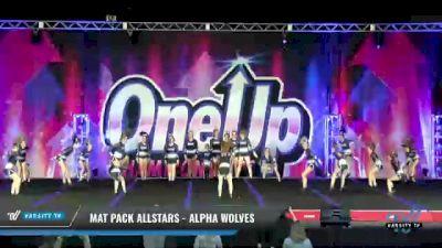 Mat Pack Allstars - Alpha Wolves [2021 L3 Junior - D2 - Medium Day 1] 2021 One Up National Championship