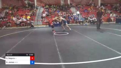 65 kg Prelims - Nicholas Segura, Texas vs Nick James, Nebraska Golden Eagles Wrestling Club