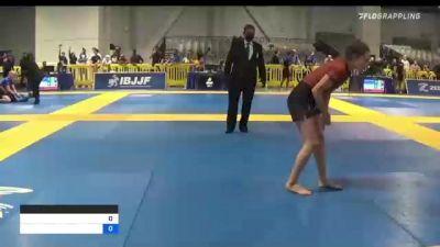 BREANNA STIKKELMAN vs JENNIFER ESCOBAR 2021 American National IBJJF Jiu-Jitsu Championship