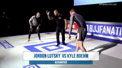 Kyle Boehm vs Jordon Lutsky BJJ Fanatics Submission Only Grand Prix