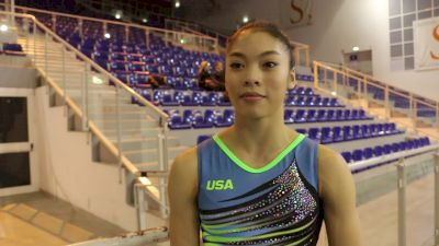 Interview - Gabby Perea (USA) - Training Day 3, 2019 City of Jesolo Trophy