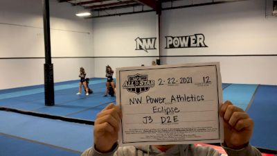 Northwest Power Athletics - Eclypse [L3 Junior - D2 - Small - E] 2021 NCA All-Star Virtual National Championship