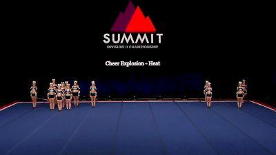 Cheer Explosion - Heat [2021 L4.2 Senior - Small Semis] 2021 The D2 Summit
