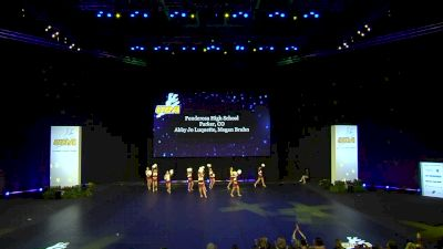 Ponderosa High School [2020 Small Pom Prelims] 2020 UDA National Dance Team Championship