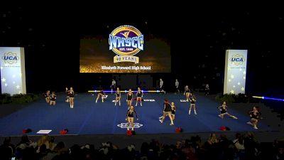Elizabeth Forward High School [2020 Junior Varsity Non Tumbling Semis] 2020 UCA National High School Cheerleading Championship