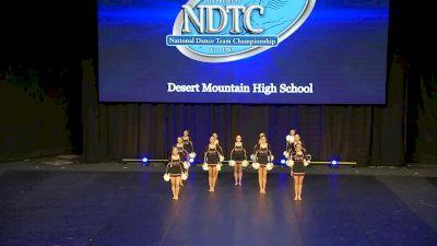 Desert Mountain High School [2020 Small Pom Semis] 2020 UDA National Dance Team Championship