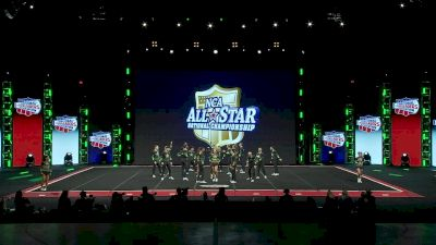 CheerForce - Nfinity [2020 L6 International Open Large Coed Day 1] 2020 NCA All-Star Nationals
