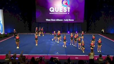 Titan Cheer Alliance - Lady Storm [2020 L3 Performance Rec - Non-Affiliated (18Y - Small)] 2020 The Quest
