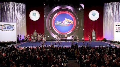 Top Gun All Stars - Miami - Lady Jags [2019 L5 Senior Medium All Girl Finals] 2019 The Cheerleading Worlds