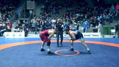 97 kg MFS Quarterfinal, Kyle Snyder, USA vs Murazi Mchedlidze, UKR