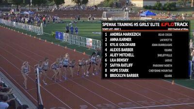 Spewak Training High School Girls' Elite Development Mile