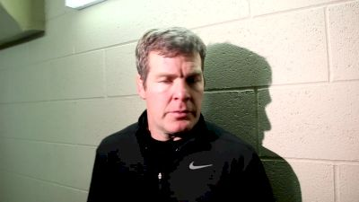Iowa Coach Tom Brands After Beating Wisconsin And Remembering Eli Stickley
