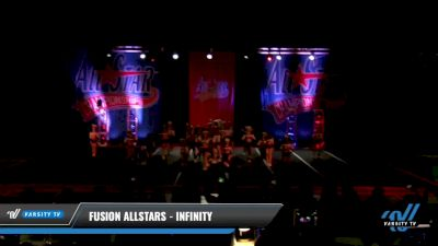Fusion Allstars - INFINITY [2021 L4 Senior - Medium Day 3] 2021 ASCS: Tournament of Champions & All Star Prep Nationals