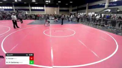 74 lbs Rr Rnd 2 - Sebastian Huizar, So Cal Grappling vs Markus Reyes-Galdamez, Westlake WC