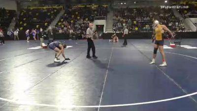 174 lbs Quarterfinal - George Moseley, Averett University vs Brian Shermeyer, Messiah University