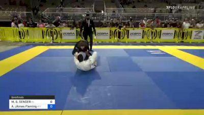 MARCEL S. SENGER vs AYDEN JAMES FLEMING 2021 Pan Kids Jiu-Jitsu IBJJF Championship