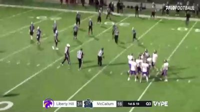 Replay: Liberty Hill vs McCallum - 2021 Liberty Hill vs McCallum (Away Audio) | Oct 8 @ 9 PM
