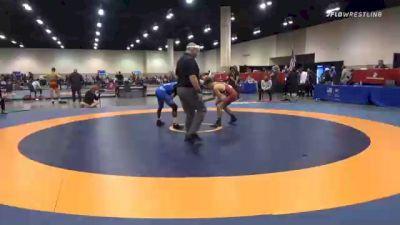 57 kg Consolation - Paul Bianchi, Arkansas Regional Training Center vs Rayvon Foley, Unattached