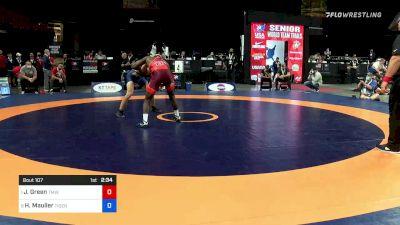70 kg Quarters - James Green, Titan Mercury Wrestling Club vs Harold 'Brock' Mauller, Tiger Style Wrestling Club