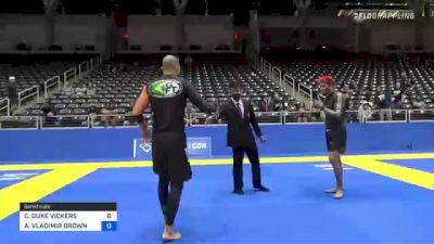 CHRISTOPHER DUKE VICKERS vs ALEXANDER VLADIMIR BROWN 2021 World IBJJF Jiu-Jitsu No-Gi Championship