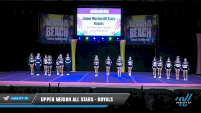 Upper Merion All Stars - Royals [2021 L6 Senior Coed - XSmall Day 2] 2021 ACDA: Reach The Beach Nationals