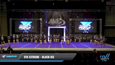 SYA Extreme - BLACK ICE [2021 L4 Performance Recreation - 8-18 Years Old (AFF) Day 1] 2021 The U.S. Finals: Ocean City