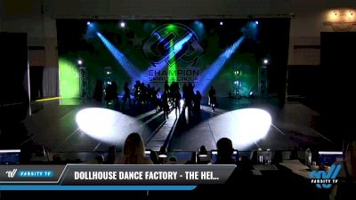 Dollhouse Dance Factory - The Heist [2021 Junior - Hip Hop - Large Day 2] 2021 CSG Dance Nationals