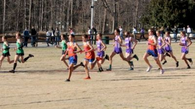 2021 NCHSAA XC Championships Day Two - Finish Line Cam