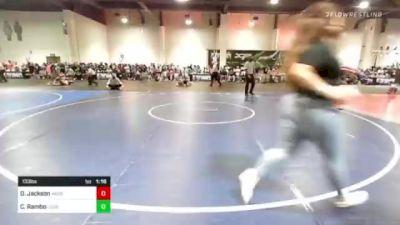 133 lbs Rr Rnd 2 - Devon Jackson, Mercenary Combat Academy vs Cody Rambo, Legacy Elite WC