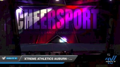 Xtreme Athletics Auburn - Green [2020 Youth Small 1 D2 Division A Day 2] 2020 CHEERSPORT National Cheerleading Championship