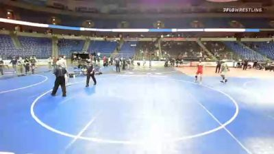 152 lbs 5th Place - Nathaniel Insko, North Carolina vs Braeden Baller, Texas