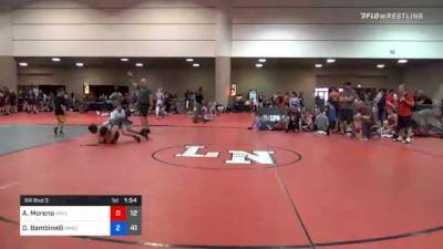 143 lbs Prelims - Anthony Moreno, Apex vs Dominic Bambinelli, Team Minion (GA)