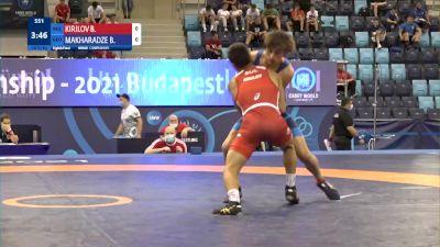 51 kg 1/8 Final - Borislav Krasimirov Kirilov, Bulgaria vs Beso Makharadze, Georgia