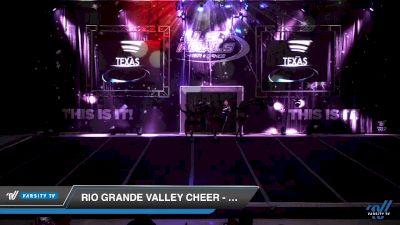 Rio Grande Valley Cheer - Metallic [2019 Senior Open 4 Day 2] 2019 US Finals Las Vegas