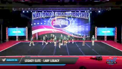 Legacy Elite - Lady Legacy [2021 L4 Senior Coed - D2 Day 1] 2021 ACP: Midwest World Bid National Championship