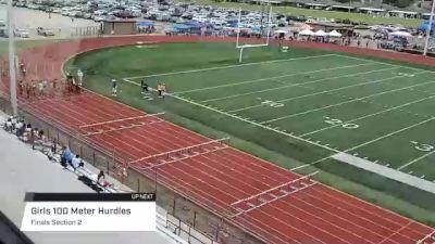 Youth Girls' 100m Hurdles, Finals 2 - Age 17-18